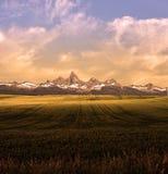 Montana Mountains Landscape Photographie stock libre de droits