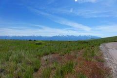 Montana Mountains Stock Photography