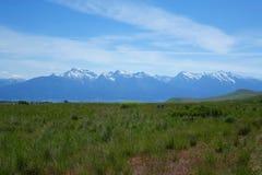 Montana Mountains Stock Image