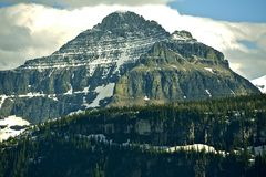 Montana Mountains Royalty Free Stock Images