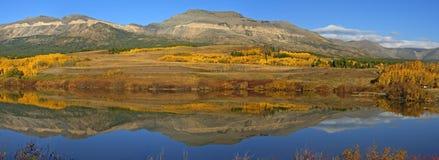 Montana odbicia Fotografia Stock