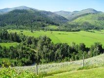 Montana Ranch Land Stock Photos