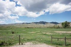 Montana rancho Fotografia Royalty Free