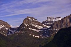 Montana Rocky Mountains Royalty Free Stock Images