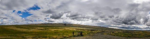 Montana rural fotografia de stock
