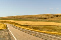Montana rural no outono imagem de stock royalty free