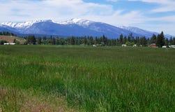 Montana`s Bitterroot Mountains Stock Photo