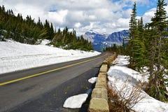 Montana Scenic Road Royalty Free Stock Image