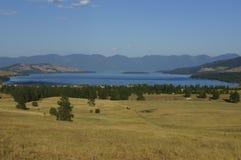 Montana See Stockbild