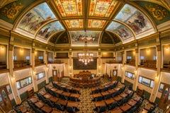 Montana Senate Chamber royalty free stock image