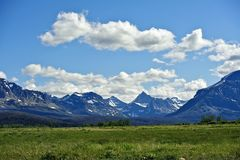 Montana Skaliste góry zdjęcia stock