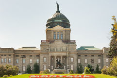 Montana state capitol. State capitol complex in Helena, capital of Montana state Stock Images