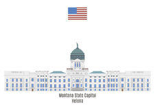 Montana State Capitol, Helena Royalty Free Stock Photos