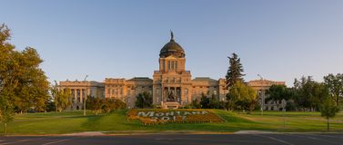 Montana State Capitol. Panoramic of the Montana State Capitol at 1301 E 6th Avenue in Helena, Montana Royalty Free Stock Images