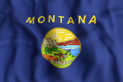 Montana State flag Royalty Free Stock Photography