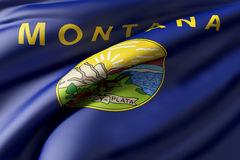 Montana State flag Stock Images