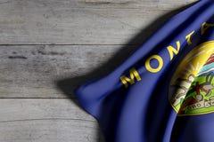 Montana State flag Royalty Free Stock Image