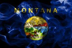 Montana state smoke flag, United States Of America.  royalty free stock image