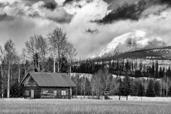 Montana. Summer cabin in the middle of nowhere in Montana Stock Photography