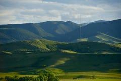 Montana Summer Landscape Imagen de archivo libre de regalías