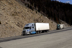 MONTANA_USA_HEAVY TRAFIC Royalty Free Stock Images