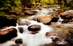 montana vatten Royaltyfria Bilder