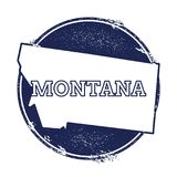 Montana Vector Map. Royalty Free Stock Image