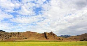 Montana Vista Fotografia Stock