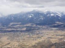 Montana von 10000 Fuß lizenzfreies stockfoto