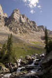 Montana Wilderness. West Fork of the Rock Creek off the trail above Quinnebaugh Meadows, Montana Stock Photography