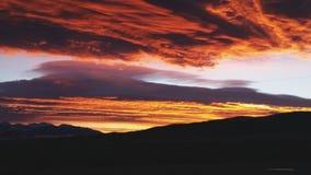 Montana wschód słońca zdjęcie stock