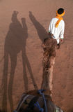 Montando o camelo Foto de Stock Royalty Free