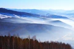 Montane landscape Royalty Free Stock Image