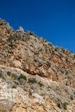 Montanha áspera da ilha Imagens de Stock