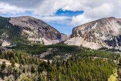 Montanha áspera perto do La Veta em Colorado do sul Fotografia de Stock