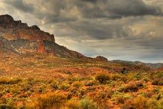 Montanha 105 do deserto fotos de stock