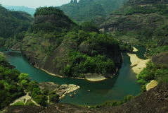 Montanha 4 de Wuyi Imagem de Stock