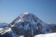 Montanha 7 de Dachstein imagem de stock royalty free