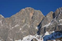 Montanha 8 de Dachstein fotos de stock royalty free
