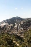 A montanha ajardina da caverna da estrada Colorado Springs dos ventos Imagens de Stock Royalty Free