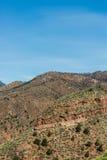 A montanha ajardina da caverna da estrada Colorado Springs dos ventos Fotos de Stock