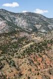 A montanha ajardina da caverna da estrada Colorado Springs dos ventos Foto de Stock Royalty Free