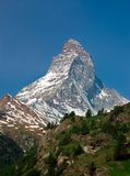 Montanha alpina Matterhorn Zermatt fotos de stock