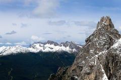 Montanha alta imagens de stock