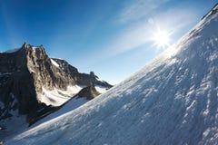 Montanha alta foto de stock royalty free