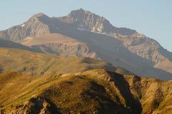 Montanha andina no pimentão Imagens de Stock Royalty Free