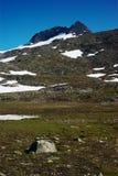Montanha ao longo do Nordkalottleden Imagem de Stock Royalty Free