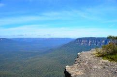 Montanha azul 3 Imagem de Stock Royalty Free