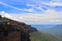 Montanha azul 7 Imagem de Stock Royalty Free