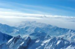 Montanha azul Fotografia de Stock Royalty Free
